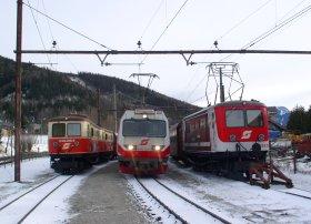 Bild 4090 und 3x 1099 in Mariazell